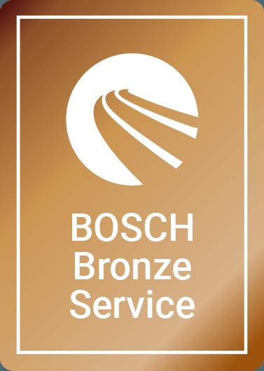 Bosch Bronze car service logo