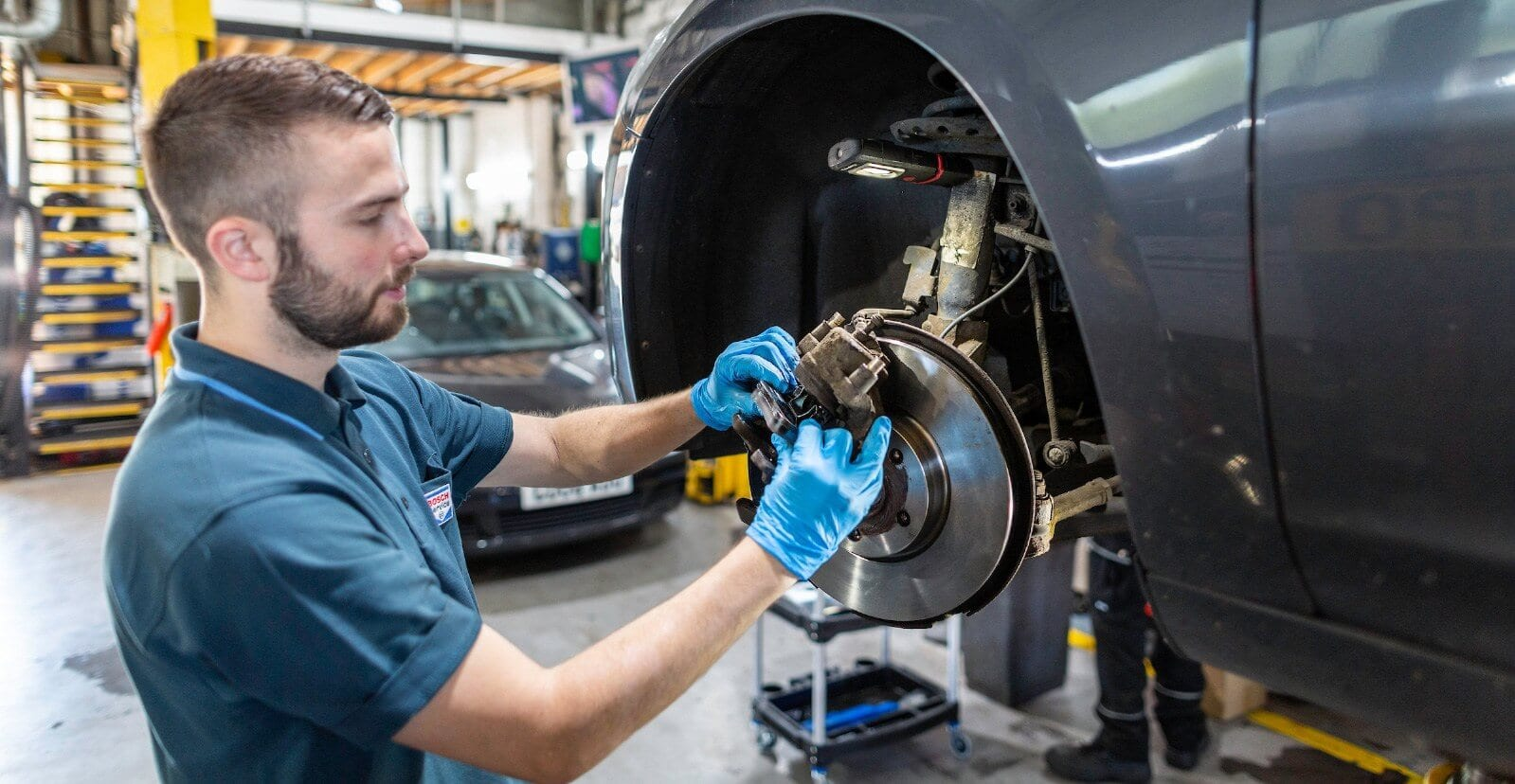 Car wheel repair at Collison Motoring Services in Waterlooville