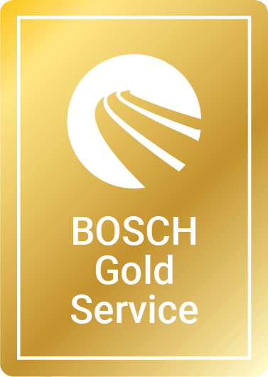 Bosch Gold car service logo
