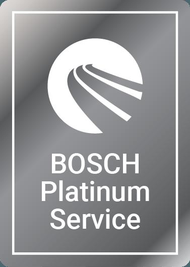 Bosch Platinum car service logo